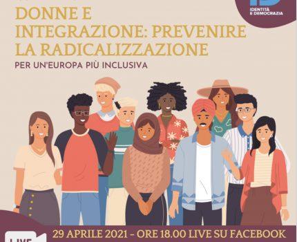 """""""Donne e Integrazione: Prevenire la Radicalizzazione"""" Incontro webinar"""